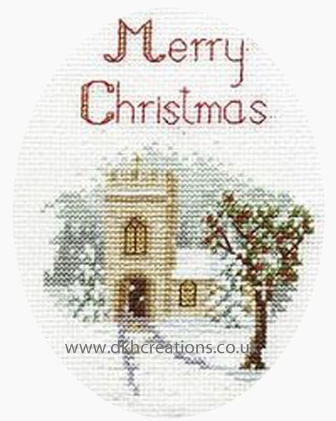 The Church Greetings Card Cross Stitch Kit